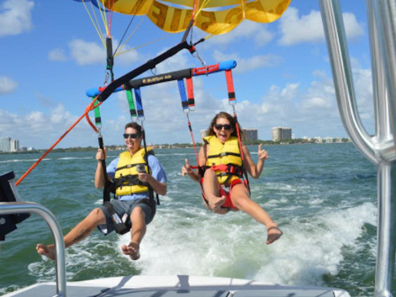 Parasailing In Miami Parasail World