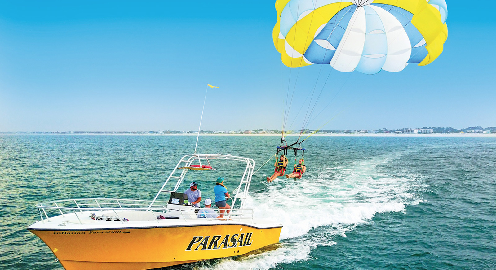 Parasailing In Miami Beach With